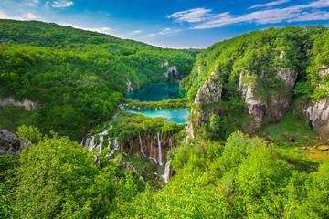 Plitvice Lakes NP from Vidikovac point #2,  Croatia