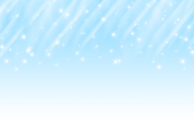 Wall Mural - Background blue abstract stars sky