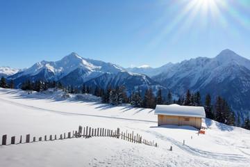 Schihütte am Winterwanderweg