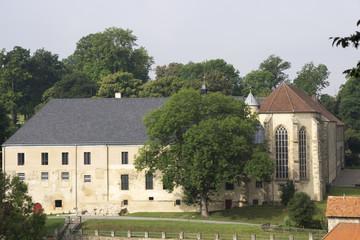 Klosterkirche im Kloster Dalheim, Lichtenau, Deutschland