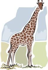 sketchy giraffe