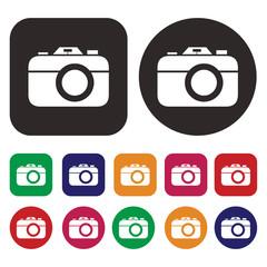 Camera icon set / Photo icon set