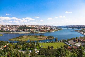 The Golden Horn View in Istanbul