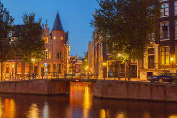 Amsterdam's canals.