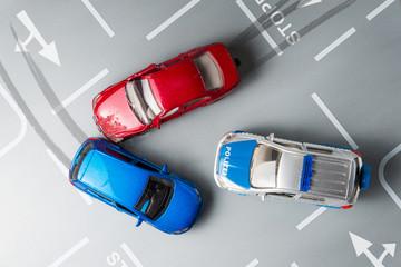 Autounfall - Verkehrsunfall