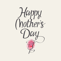 "The words ""Happy Mother's Day"""
