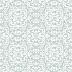 Damask Seamless Vector Pattern