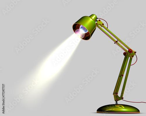 Lampada da tavolo verde 77247737 for Lampada da tavolo verde