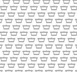 gray cart on white pattern.can be used for web page backgrounds