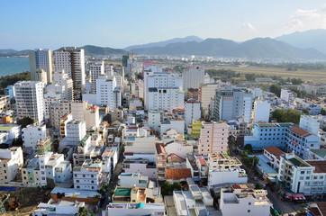 Виды города курорта Нячанг во Вьетнаме