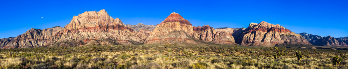 Red Rock Canyon High Resolution Panorama