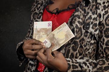 femme noire prostituée