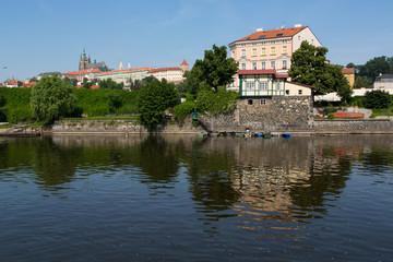 Prague - View of Vltava river