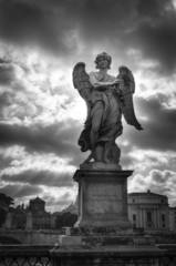 Statue of angel - Rome