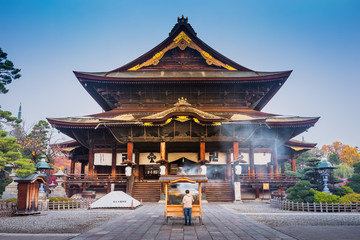 Zenkoji Temple, Nagano, JAPAN.