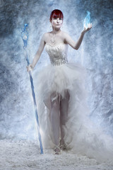Ice sorceress