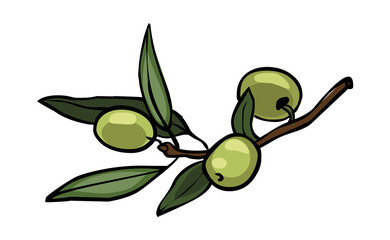 Vector olives