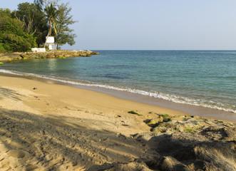 peaceful beach