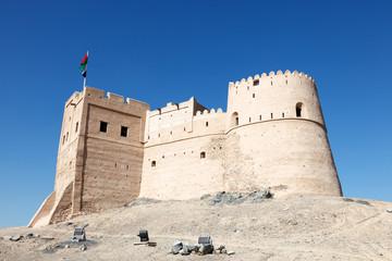 Historic fort in Fujairah, United Arab Emirates