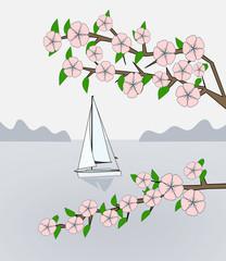 Sailing in Springtime