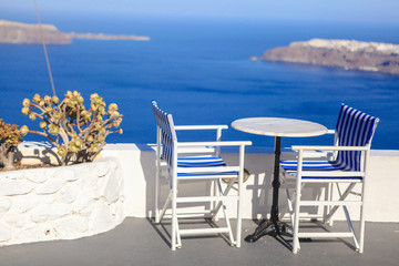 Santorini island in Greece, Europe