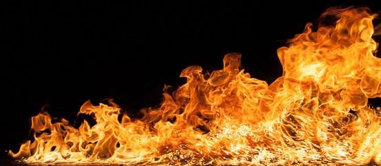 Canvas Prints Fire / Flame Beautiful stylish fire flames