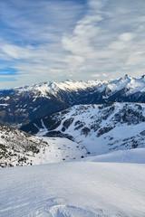 Ski resort Zillertal - Tirol, Austria.