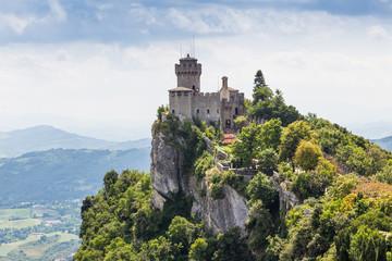 ancient fortress of Republic San Marino Wall mural