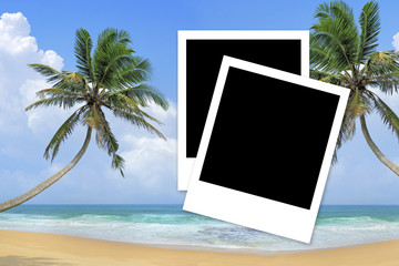 Memories about tropical holidays