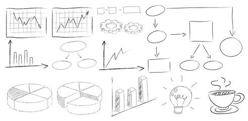 Charts doodles
