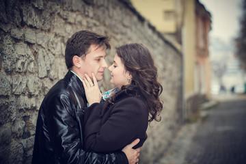couple man woman