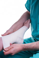 Sprained Foot