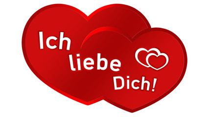 lyl1 LoveYouLabel - ich liebe dich - double heart - 16zu9 g3111