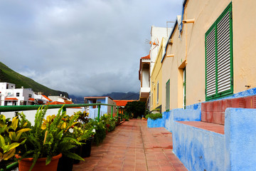 Street in San Sebastian de la Gomera, Canary Islands