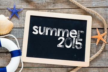 Summer 2015 Text on blackboard