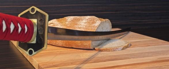 Brot schneiden mal anders...