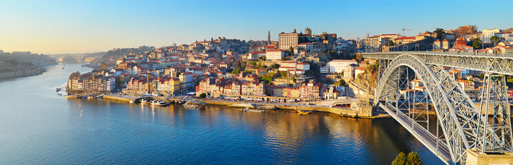 Porto skyline, Portugal Wall mural