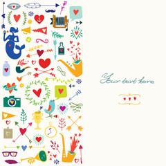 Card symbols love