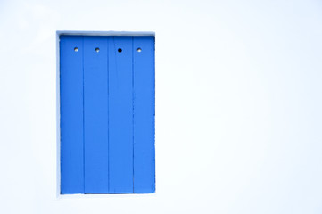 Blue Wooden Plank Background