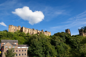 Wall Mural - Cloud over Durham Castle