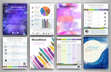 Infographic creativity concept.