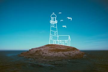 Imagining a lighthouse