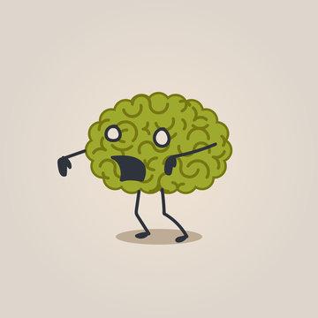 Brain zombie