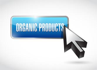 organic product button illustration design