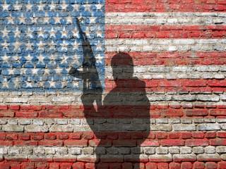 USA armed man