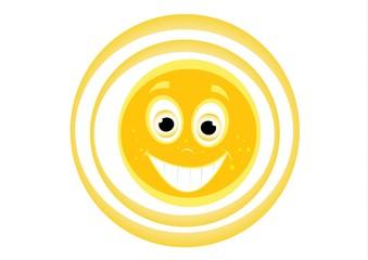 uśmiechnięte słonko