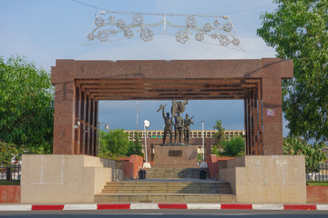 War Memorial in Bata