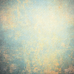 Blue rusty grunge background