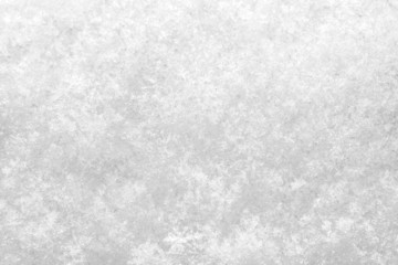 close up of fresh snow texture