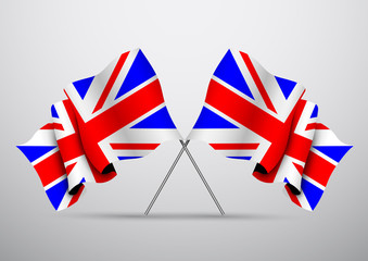 Two Flag of United Kingdom
